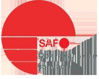 Логотип SAF